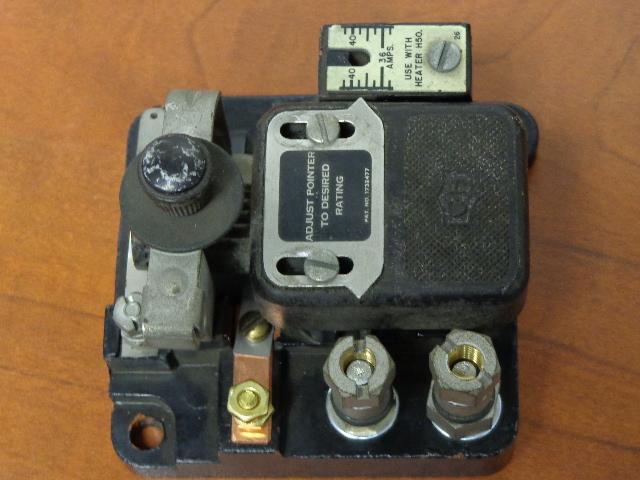 10176h19a overload relay module cutler hammer motor for Cutler hammer motor control center