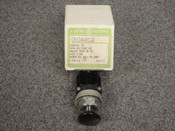 GENERAL ELECTRIC *OEM* MINATURE OILTIGHT PUSHBUTTON, PART# CR104A8122