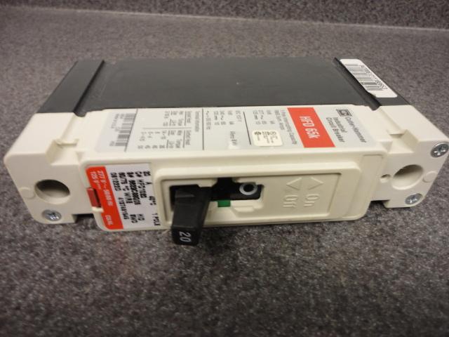 Hfd1020 20 Amp Single Pole Breaker Cutler Hammer Motor Controls Center